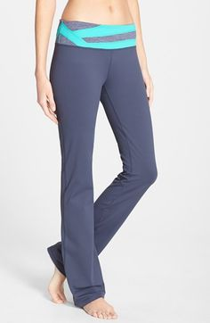 Zella+'Barely+Flare+Booty'+Pants+available+at+#Nordstrom