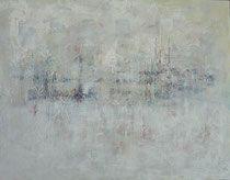 hidden - oculto técnica mixta sobre lienzo 114 x 146 cm