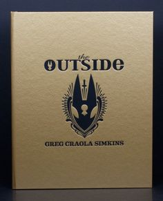 "Greg Craola Simkins - ""The Outside"" book"