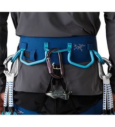 Harness Men's AR: All Around. Extremely versatile adjustable leg harness that excels for sport, trad, alpine, mixed or ice climbing. Leg Harness, Hobbies For Men, Ice Climbing, Adjustable Legs, Photo S, Diaper Bag, Bags, Traditional, Mountains