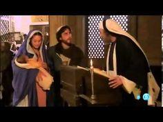 La Presentación al niño Jesús en el templo( Fragmento de la Película Mar...