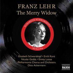 Franz Lehar - La Veuve Joyeuse: Enregistrement In