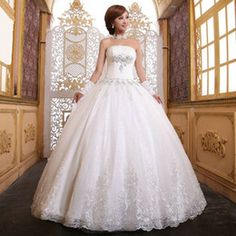 Ball Gown Wedding Dresses - High Quality Ball Gown Wedding Dresses From China Wholesaler | DHgate - Page 19