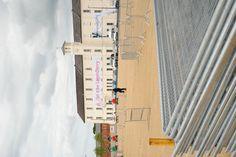 Ebrington Square preparing for our 'Global Truce 2012' celebration.