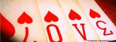 Love of Cards Facebook Cover Photo For Your Profile