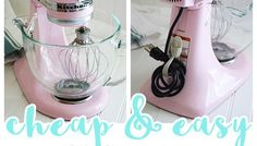 Small Kitchen Appliance and Power Tool Cord Organization Tip {Cheap and EASY!}