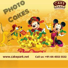 We are specialize print #cake shop in Chennai to print amazing & photo on the cake and home deliver photo cakes to #Chennai and #Bangalore.  #Photocakes #Birthdaycakes #Ordercakesonlinechennai For more info: http://www.cakepark.net/photo-cakes.html Call us: +91-44-4553 5532