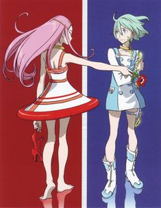 Eureka Seven DVD Cover Scan (Anemone and Eureka)
