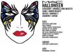 Tons of MAC Halloween Face Charts. amazing!