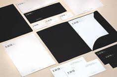 LBM - Corporate visual identity by Dynamo design, photo of printed realization by w:u studio Visual Identity, Paper Design, Branding Design, Cards Against Humanity, Graphic Design, Studio, Printed, Corporate Design, Studios