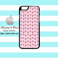 Pink Cupcakes Pattern iPhone 6 PLUS Case Cover