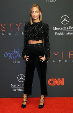 Host Nicole Richie attends the 10th annual Style Awards during Mercedes Benz Fashion Week Spring 2014 at Lincoln Center on September 4, 2013 in New York City.