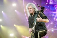 Adam Lambert y Brian May protagonizaron el espectáculo 'Queen + Adam Lambert' en Amsterdam, Holanda, el 30 de enero de 2015.