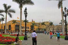 Writer's Wanderings: World Cruise - Lima, Peru