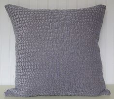 Lavender Decorative Throw Pillow--18x18 or 20x20 or 22x22 Velvet Pillow Cover-Accent Pillow