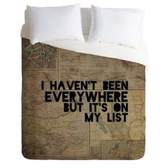 Leah Flores Everywhere Duvet Cover | DENY Designs Home Accessories