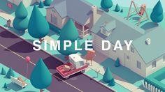 SIMPLE DAY. #Animation by Guillaume Kurkdjian