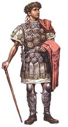 """ROMAN: """"Centurión de la XIª Legión, época de la dinastía Julio-Claudia"""""""