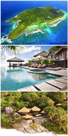 Was am Fregate Island Private besonders ist, verrät bereits der Name: Privatsphäre. Lediglich diese eine Hotelanlage befindet sich auf der ganzen Insel. Alle Infos via Urlaubspiraten.de #FregateIslandPrivate #Seychellen #Luxusurlaub