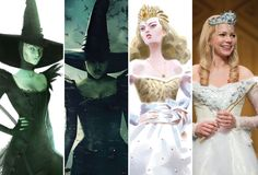 See the costume evolution of Oz, from MGM's iconic The Wizard of Oz to the modernized look of Oz The Great and Powerful, starring James Franco