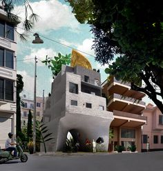 Point Supreme Architects, Metaxourgio, Athens, 2009
