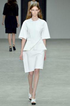 Auguste Abeliunaite Calvin Klein S/S 2014