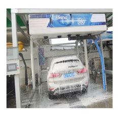 Source 2018 laser wash 360 New SIngle Arm No Brushes Touchless Car Wash With Dryer System on m.alibaba.com Electricity Consumption, Water Pump Motor, Car Wash Equipment, Central Processing Unit, Become A Distributor, Wash Brush, Control Unit