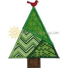 Quilted Tree Applique Design