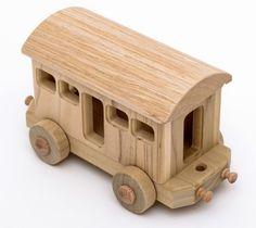 An easy to make train car: