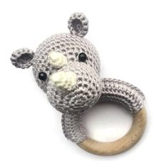 As part of the Endangered Animal Crochet Project, we look at the rhinoceros, learning more about the animal and curating rhino crochet patterns. Crochet Baby Toys, Crochet Animals, Diy Crochet, Crochet Patterns Amigurumi, Baby Knitting Patterns, Newborn Toys, Bag Patterns To Sew, Crochet Projects, Diy Projects