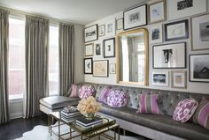 Living Room by Wendy Labrum Interiors, LLC. #wendylabruminteriors #practicalstyle #tangibledesign