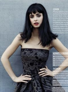 I can never see a picture of Krysten Ritter without immediately wanting to dye my hair back to black and chop my bangs.