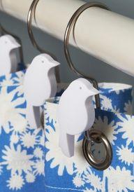 Bird Curtain Rings!