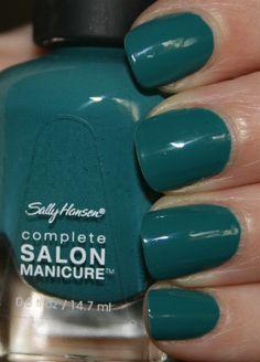 Sally Hansen - Complete Salon Manicure - Fairy Teal    #sallyhansen #teal #green #blue