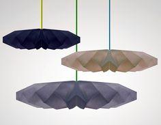 Paper lamps byhettler.tullman