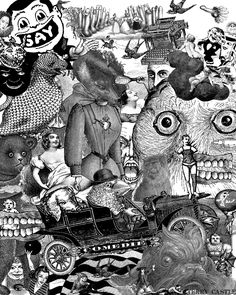 My Secret Life.  Digital Collage  ©🔨⛏✍🏻 Terry Castle, 2011.