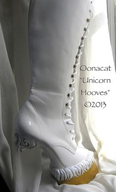 UNICORN BOOTS .... that is all...