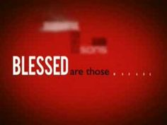 Today's Gospel is about The Beatitudes What a radical way to live!