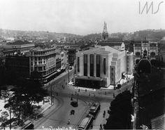 Augusto Malta -    Praça Tiradentes,  1928 -   Praça Tiradentes (Teatro João Caetano)