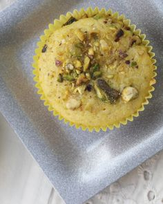 lemon pistachio cornmeal muffins - I replaced the butter with avocado and used whole wheat flour instead of all-purpose. So good!! It was a little too sugary for me, so i think next time ill decrease the amount of sugar used.