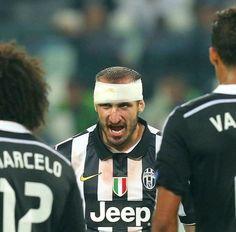 Chiellini Juventus vs Real Madrid
