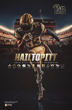 2018 Pitt Football Spring Game Poster on Behance – sport – 2018 Pitt Football Spring Game Poster bei Behance – sport – Game Poster, City Poster, Poster S, Pitt Football, College Football, Pitt Panthers Basketball, Cover Shoot, Emergency Room, Sports Graphic Design