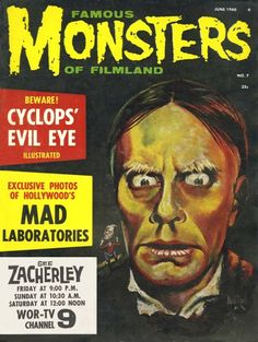 Monster Magazine Galleries: Famous Monsters of Filmland 1