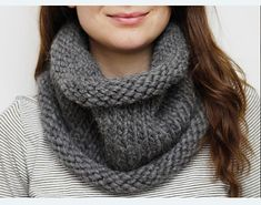chunky cowl from the guardian.uk. the link is available on ravelry to the free pattern.