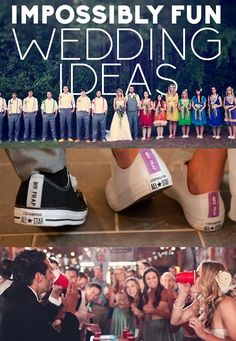 11-Awesome-and-Fun-Wedding-Ideas Pretty much pinning this for flip cup!