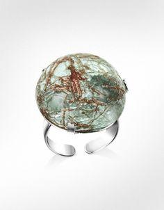 Antica Murrina Graffiti - Murano Glass Ring