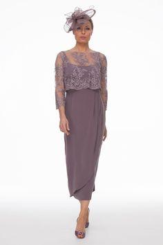Grape Dress and Beaded Top