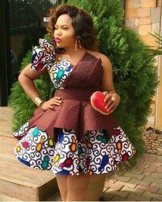 African Fashion Ankara, Latest African Fashion Dresses, African Print Fashion, Africa Fashion, Unique Ankara Styles, Ankara Dress Styles, African Print Dresses, African Prints, Short Ankara Dresses