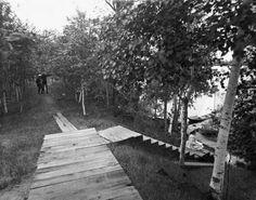 Irvine Park circa 1910.  Courtesy of the Wisconsin Historical Society.