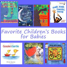 Favorite Children's Books for Babies